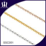 Collier de bijoux en or en acier inoxydable