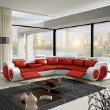 バッファローの本革$696が付いているS749普及したヨーロッパのDesigneのソファーのみ