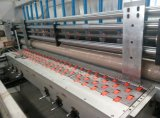 Automatisches Hochgeschwindigkeitswasser-Tintendrucken u. kerbende u. stempelschneidene Maschine