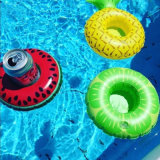 Mini aufblasbares Swimmingpool-Partei-Getränk schwimmt Schaumgummiring-Küstenmotorschiff-Wasser-sich hin- und herbewegenden Becherhalter