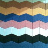 Внутренних дел декоративные настенные шумоизоляция Акустические панели с помощью полиэфирные волокна (PAP016)