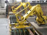 الإنسان الآليّ يكدّر نظامة قرميد آلة