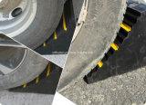 Tapón de goma sólido resistente vendedor caliente de la cuña de la rueda del carro
