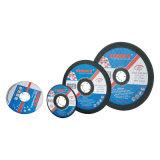 MPaの証明書が付いている金属(125X1.0X22.2mm)の研摩剤のための平らな締切りの車輪