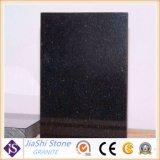 Natürliche schwarze Galaxie-Granit-Steinplatte für Fußboden-/Wall-Fliesen