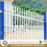 Derribar valla de jardín de metal