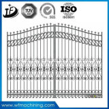장식적인 철 문을%s Q235/Cast 사철 주물 담 부속