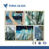 12mm/15mm/19mm ontruim Gehard Antislip Glas voor Treden/Vloer