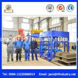 Maquinaria automática do tijolo da máquina de fatura de tijolo da argila de Machina do bloco de cimento da máquina do tijolo Qt5-15