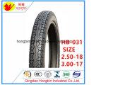 Fábrica de neumáticos MOTO MOTOCICLETA en Qingdao 2.50-18 3.00-17 de neumáticos