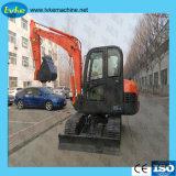 Venta caliente 5.5T Equipmen pesada de construcción de la máquina excavadora de cadenas
