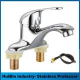 Choisir le robinet en laiton de bassin monté par paquet de traitement de Chine
