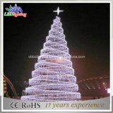 LEIDENE van de Boom van het Motief van Kerstmis Decoratieve Lichte 3D Straatlantaarn
