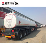 販売のための2017年の半中国3の車軸タンクトレーラー