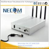 De Stoorzender van het Signaal van WiFi van de Desktop 2.4G 5.8g (4 Antennes), Stoorzender voor de Stoorzender van het Signaal GSM/3G/4G/GPS/5.8g