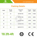 2FT/3FT/4FT/5FT/6FT LED Lights T8 Tubes