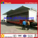 3 rimorchio degli assi 30ton Wing Open Van Curtain Side semi