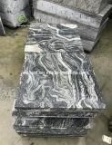 Pavimentazione della pietra del granito di Juparana e mattonelle Polished di pavimentazione