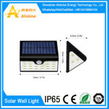 lumière actionnée solaire de mur de jardin de détecteur de mouvement de la lampe 28LED extérieure