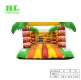 Mini Bouncer de salto inflável da terra feliz para miúdos