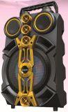 Neues Modell 8 Zoll PA-bewegliche aktive Multimedia drahtloser USB-Karaoke Bluetooth Laufkatze-Lautsprecher