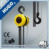 Het Blok van de Ketting van de Hand van de Machine van Shanghai Hugo Round Shape Pulling Hoist