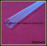 Borrar el aislante de tubo ULTRAVIOLETA fundido del tubo de cristal de cuarzo del bloque