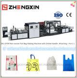 Saco de compra não tecido ambiental que faz a máquina Zxl-D700