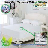 防水最もよいベッドバグの綿のテリーの女王のマットレスの保護装置