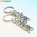 Trousseau de clés fait sur commande en métal avec le modèle de logo