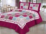 União manta de retalhos de poliéster de microfibra colcha da cama Coverlets Definido