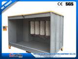 Línea de capa manual del polvo cabina del polvo
