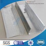 Acier léger galvanisé de mesure encadrant pour la cloison de séparation de plafond