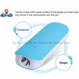 perseguidor del GPS de la batería 4500mAh para el coche/personal/almacén con la linterna V20