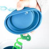 La tazza di vetro di vetro del silicone della tazza di tè di Insulationtempered personalizza la tazza dell'acqua