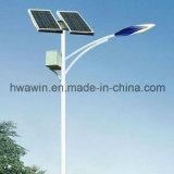 Batería de 6m 30W Top-Mounted Jardín de Luz solar calle