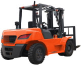 Japanse Diesel van de Motor Isuzu 7ton Vorkheftruck voor Verkoop