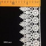Testo fisso del merletto dell'occhiello di Calloped con la guarnizione del fiore della rotella di Sun per i vestiti