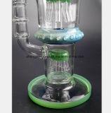 De groene Rokende Pijp van het Glas voor de Waterpijp van het Glas van het Recycling van de Filter