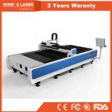 Cortador do laser do CNC do metal da máquina de estaca do laser da fibra do corpo de máquina do ferro de molde para a amostra livre modelo
