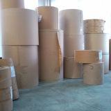 Papel kraft y papel kraft blanco/marrón& del papel de embalaje