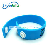 HighqualityのAsjustable Customized Silicone Bracelet