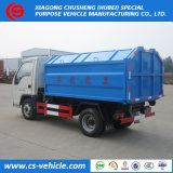 Sale를 위한 환경 Hydraulic 3tons Hooklift Garbage Trucks