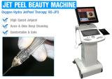 Machine faciale de peau de gicleur de l'oxygène pour le rajeunissement de peau/déplacement de ride