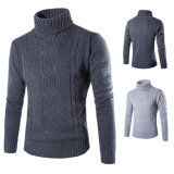 Suéter de los hombres de los suéteres del modelo del nuevo suéter que hace punto coreano