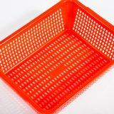 Tamis empilable en plastique de panier de cuisine du numéro 11 de HDPE pour la nourriture