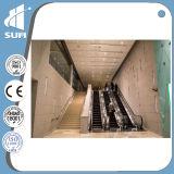 Escalera móvil de la alta calidad con la anchura de aluminio 800m m del paso de progresión