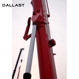 건축 또는 기술설계 기계를 위한 망원경 소매 액압 실린더