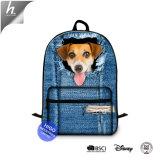 Hundeabbildung des Schule-Beutel-Multifunktionsrucksacks für Studenten