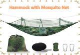 Гамак для использования вне помещений Ultralight нейлоновые кемпинг портативный гамак и противомоскитные сетки